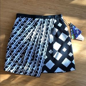 Peter Pilotto for Target Mini Skirt. Geo Print